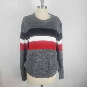 Express multicolor  heavy duty sweater size large